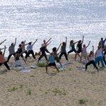 Chatham Lighthouse Beach Yoga Photo