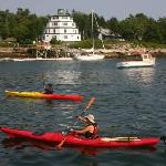 Kayaking at Sebasco