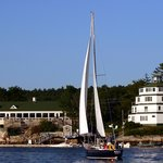 Sailing at Sebasco! What could be better?