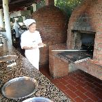 Loved the wood-burning pizza ovens!