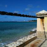Frederiksted pier from the garden promenade