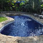 Pool area at Villas Oasis