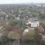 View of Rice Univ. to the NW