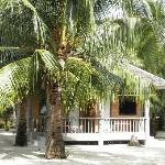 A typical cottage at Dano Beach Resort