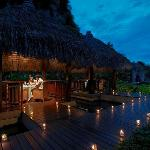 The Pomelo Restaurant at Night