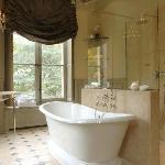 Salon de bain,chambre parme