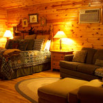 One of our amazing guest cabins!