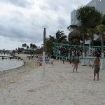 Autre partie de la plage.