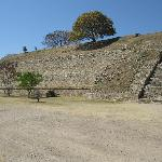 Outside wall of Monte Alban