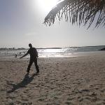 Beach area at Al Mamzar Park