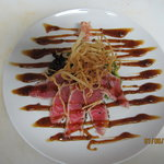 Amazing Tuna Carpaccio