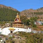 the Padmasambhaba statue
