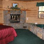 Lodge spa unit