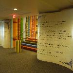 Storybook entrance to the Children's Library