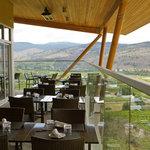 Wrap around patio with views of the South Okanagan