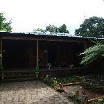 Oficinas del hostal y restaurante
