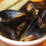 Mussels all'amatriciana