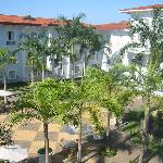 courtyard view from my room