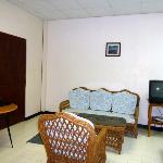 Interior of room 202