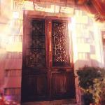 Giant front doors