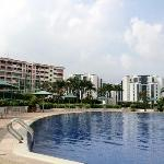 the pool at 4th floor