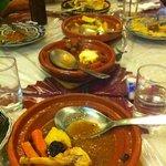 Foto de La Kasbah Morrocon Restaurant