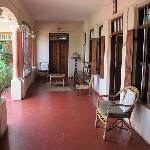 Cherukara Nest front veranda