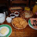 un bon petit déjeuner