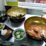 Woks for cooking with