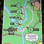 El Chorro Macho park map