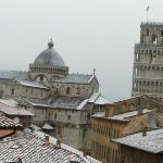 it does snow in Pisa
