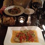 Dinner (Fisch mit Gemüse)