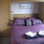 Double-bedded £50pn room