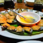 Baked Tahong - the BEST!