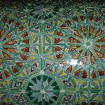Tile details downstairs