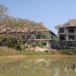 haupthaus mit anbau-baustelle