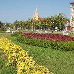 Supreme Court from Wat Botum Park