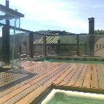 quincho y piscina