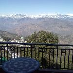The Pirpanjal Range from the suite