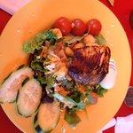 fresh catch salad