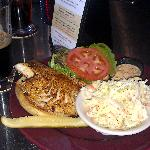 Blackened Haddock Sandwich