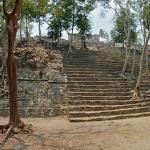 Kinichná's acropolis, at the base