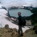 Ruapehu Crater Lake hiking, Turoa side