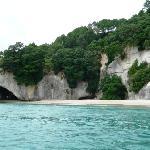 Cathedral Cove Coastline