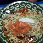 Enchiladas Mexican features four flavors: cheese, bean, beef, and chicken.