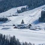 Winter wonderland am Hotel Übergossene Alm