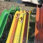 Fun at aqua park