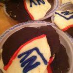 superbowl cookies!!!