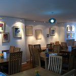 with a delicious homemade menu and artwork on the walls regularly changing, there's always somet
