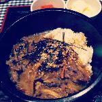 Bulgogi with Japchae noodles
